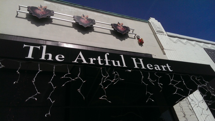 The Artful Heart Storefront